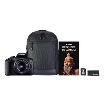 Cámara Réflex Canon EOS 2000D + 18-55mm 1:3.5/5.6 III Kit (REACO)