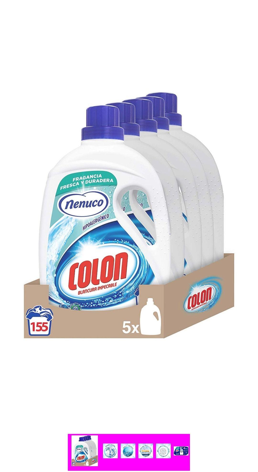 Detergente con olor a Nenuco