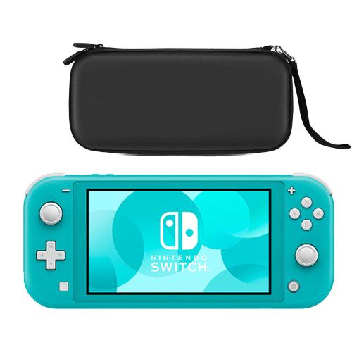 Nintendo Switch Lite - Turquesa con Funda Premium (Negro)