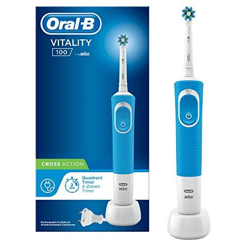 Oral-B Vitality 100 Cepillo Eléctrico Recargable con Tecnología de Braun - Mínimo en Amazon