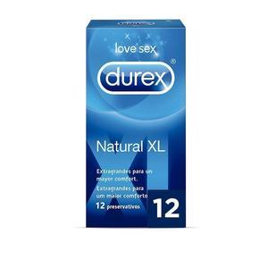 Durex Preservativos Natural XL - 12 Unidades 30% DE DESCUENTO + 15€ de descuento por una compra mínima de 20€