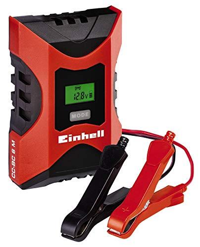 Einhell - Cargador Bateria CC-BC 6 m con ControlMicro-Processor