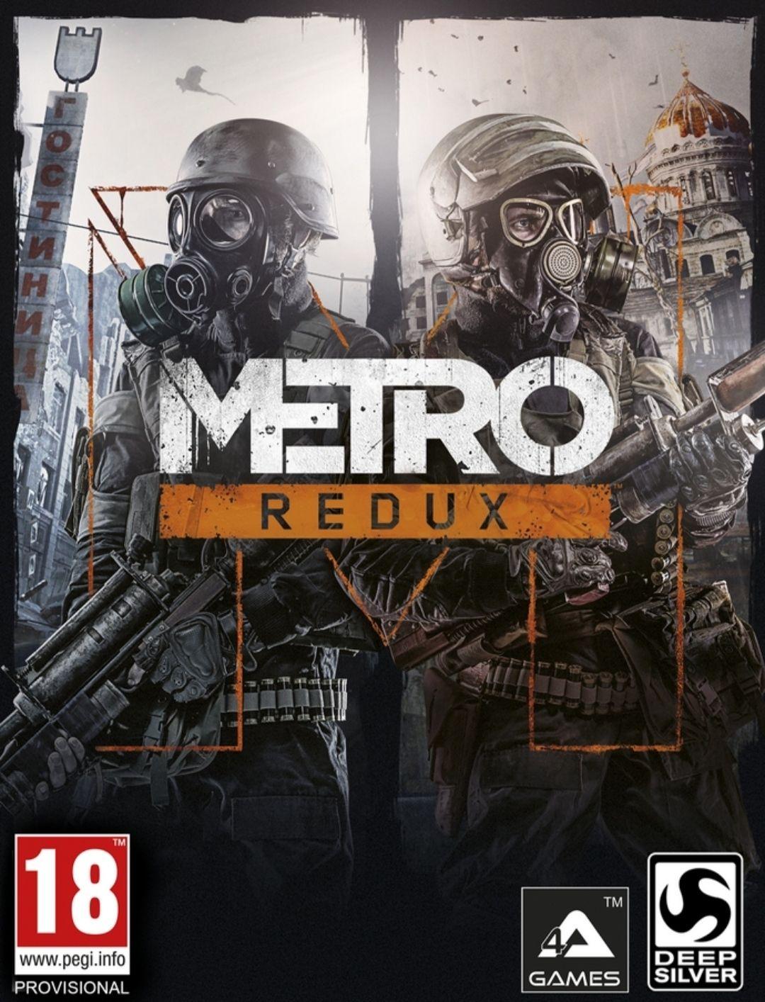 Metro Redux PS4 (Incluye Metro 2033 y Metro Last Light)