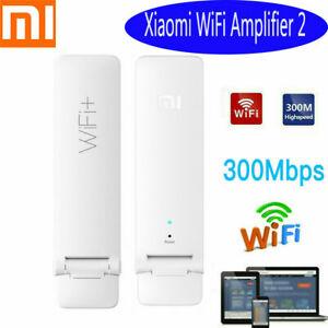XIAOMI Amplificador 2 Wireless Wifi Wi-Fi Repetidor de señal Booster Extender 300 Mbps