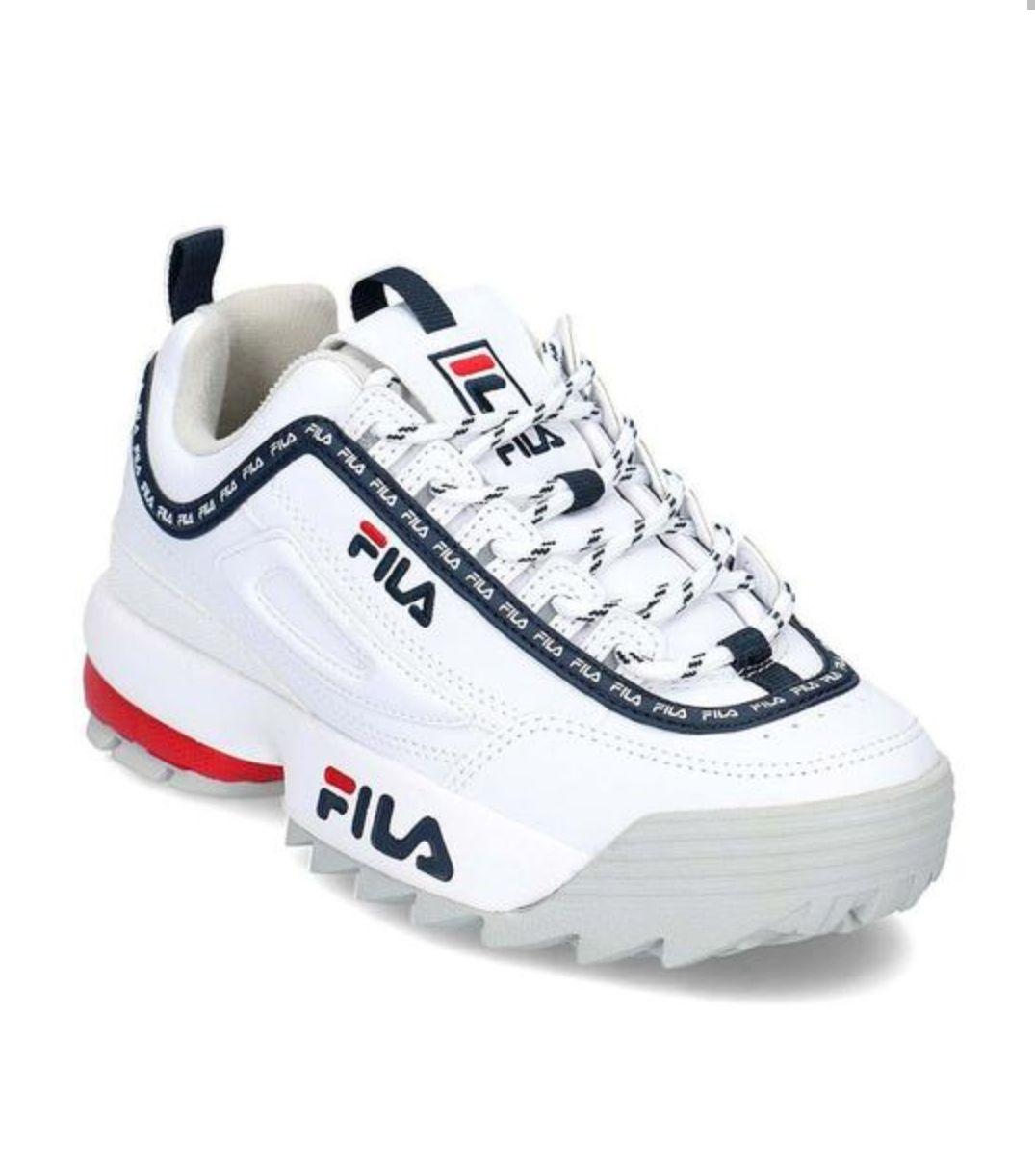 TALLA 37,38 Y 39 - Zapatillas Fila Disruptor Blanco Mujer