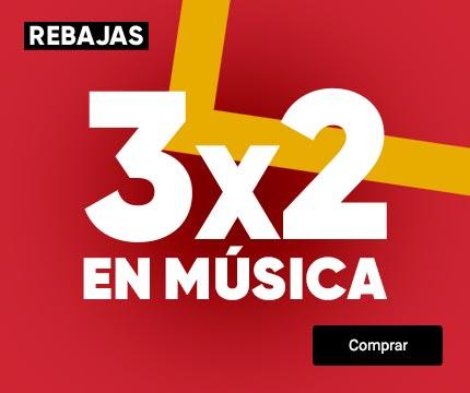 Fnac: 3x2 en música
