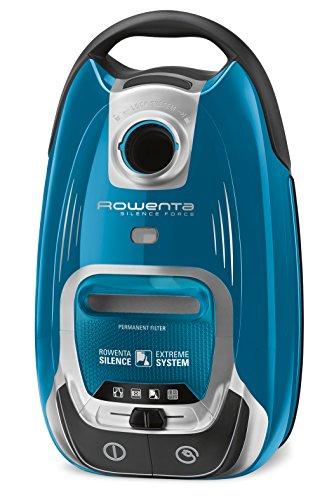 Rowenta Silence Force RO6491EA - Aspirador con Bolsa, 550 W, 4.5 L, 66 dB, Cepillo para pelo de mascota, Boquilla para Ranuras, 4.5l