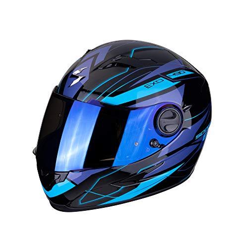 Scorpion 49–285–66–04 exo-490Nova black-blue M