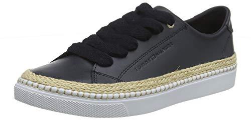 Tommy Hilfiger Tommy Jute City Sneaker, Zapatillas para Mujer
