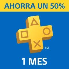 1 mes de PS+ Al 50%
