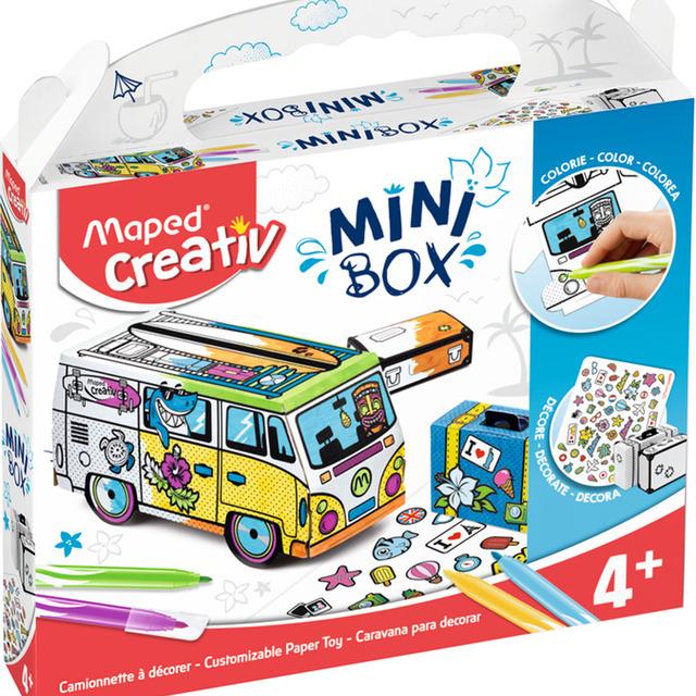 Mini Box Maped Mini Van
