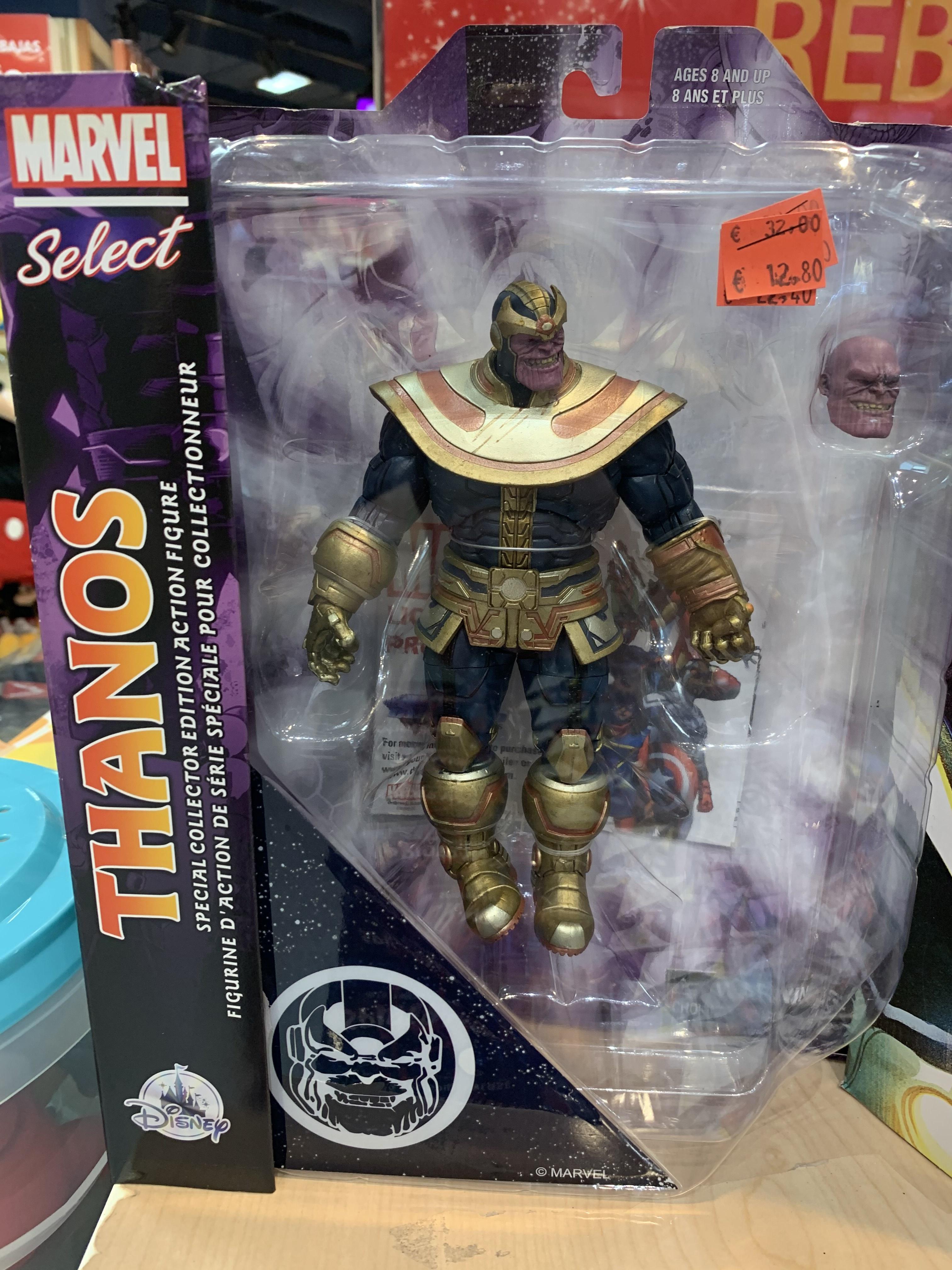 Figura MARVEL Select, Thanos (Disney Murcia)