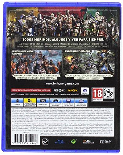 For Honor para PS4 rebajado en Amazon