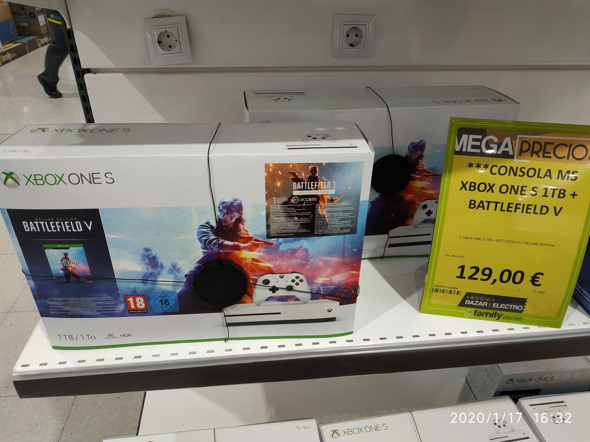 Pack Xbox One 1 Tera más Battlefield 5