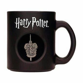 Taza Harry Potter Gryffindor emblema giratorio