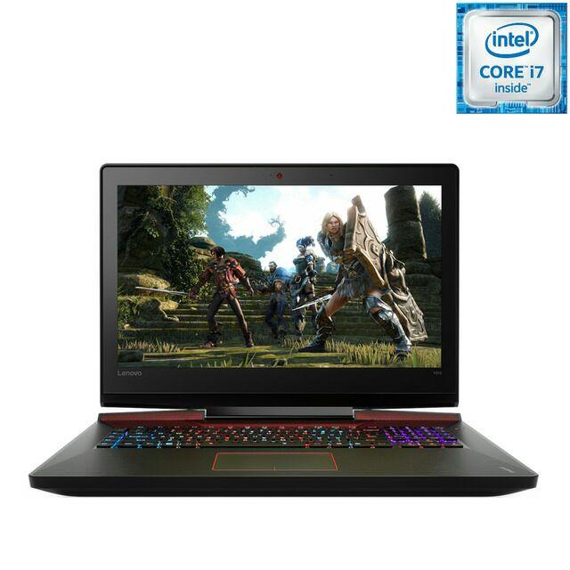 Portátil Gaming Lenovo Y910, i7, 24 GB, 256 GB SSD, 1 TB, GTX 1070 8 GB