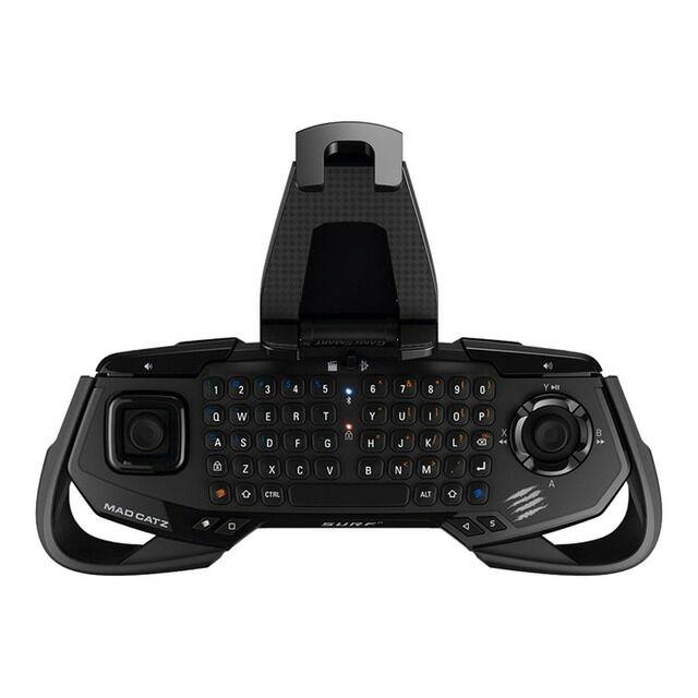 Teclado Mad Catz S.U.R.F.R Bluetooth Negro