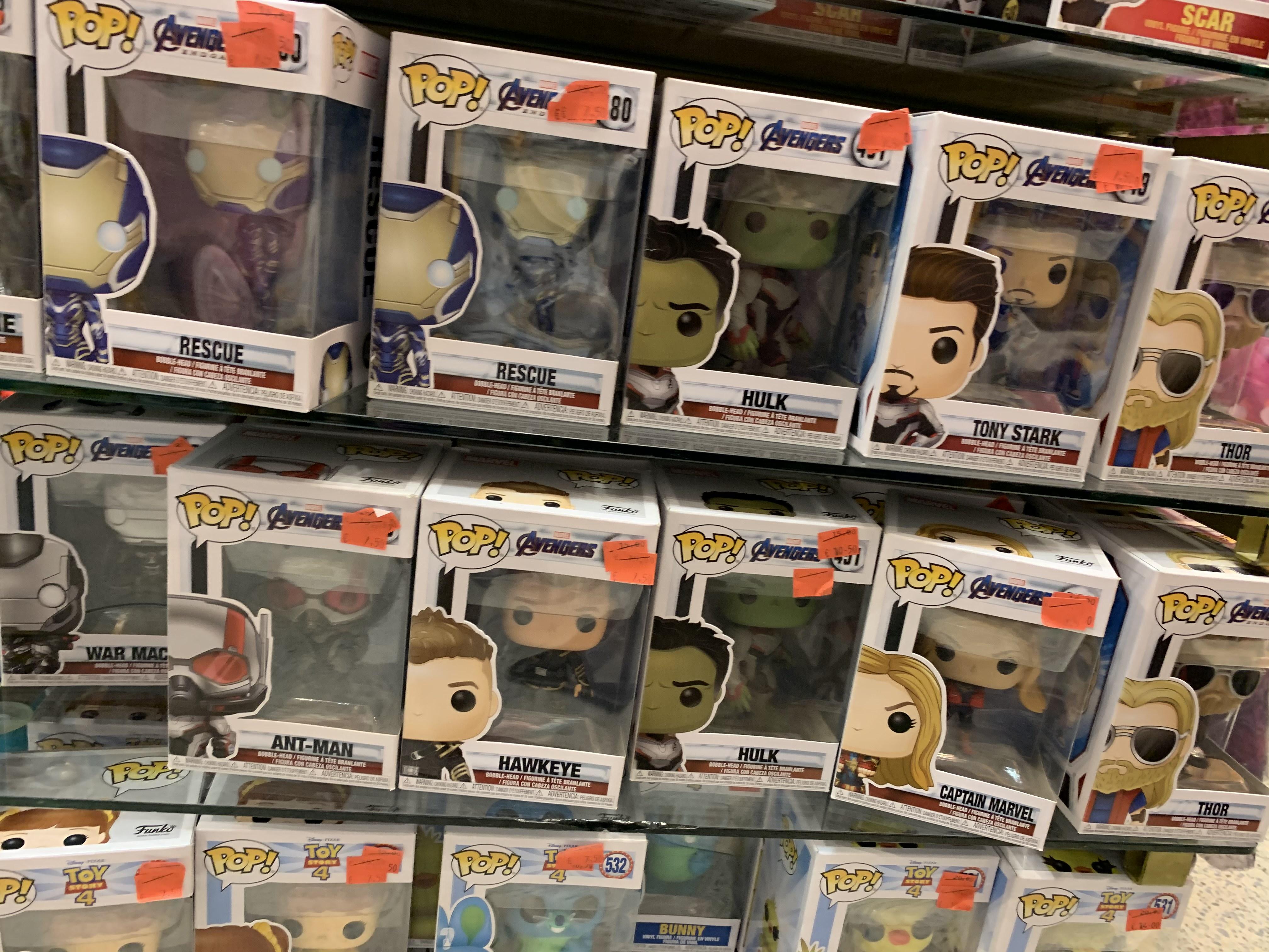 -50% Funko MARVEL ¡algunos exclusivos! (Disney Store, Murcia)