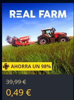 Real Farm para PS4 (Si tienes PSPlus, si no a 2.49€ - Iniciar sesion para ver el precio)