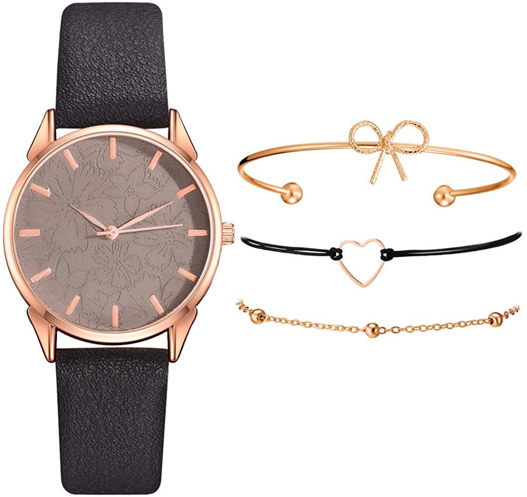 Conjunto de reloj y 3 pulseras. Aún más barato!
