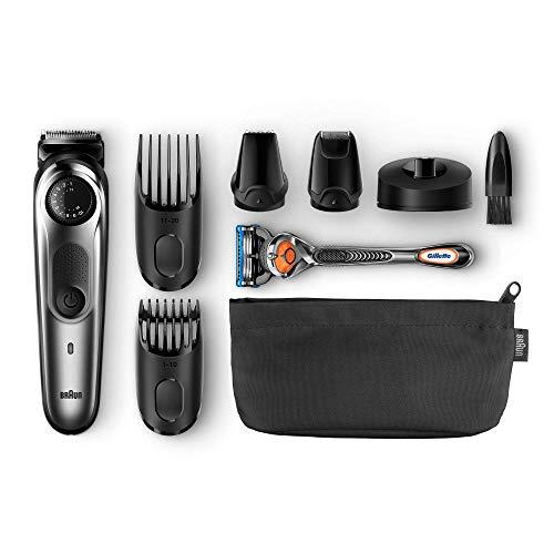 Braun BT7040 - Recortadora Barba y Cortapelos con Maquinilla Gillette Fusion 5 ProGlide
