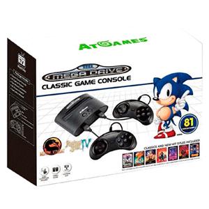 Consola Retro Sega Mega Drive Classic 2017 (81 juegos y compatible con los cartuchos Sega originales)