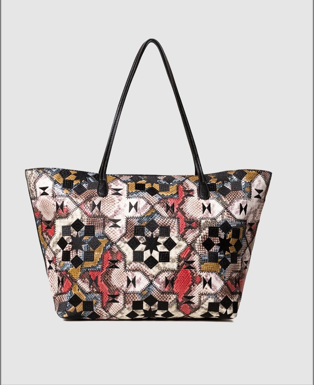 Shopping Desigual Octavia Sicilia multicolor con estampado ornamental