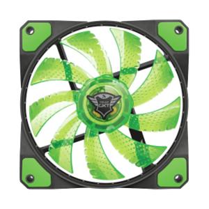 TRUST 762G Ventiladores de 120MM en Verde y Blanco