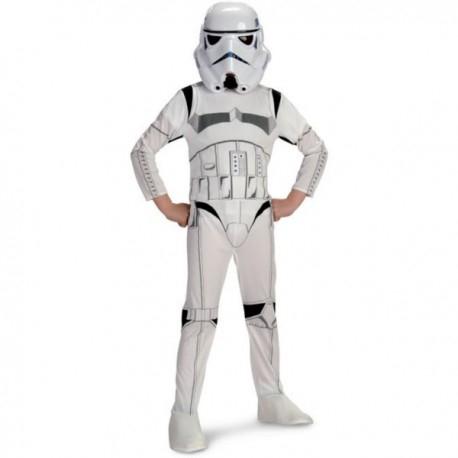 Traje Completo Stormtrooper Infantil TALLA 4 AÑOS (últimas unidades)