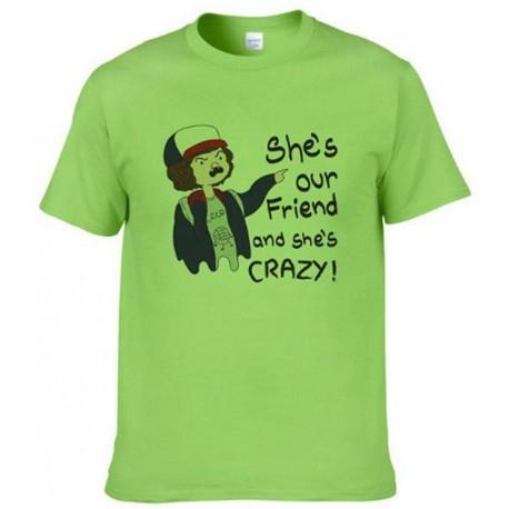 Camiseta Stranger Things Dustin (TALLA XXL)