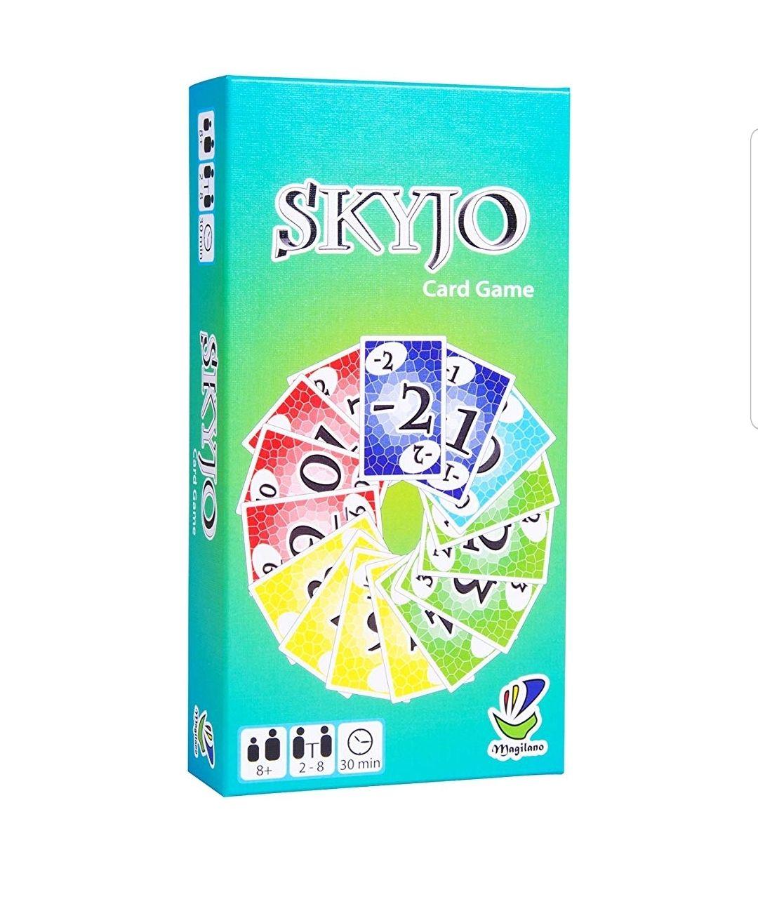 Juego de cartas Skyjo