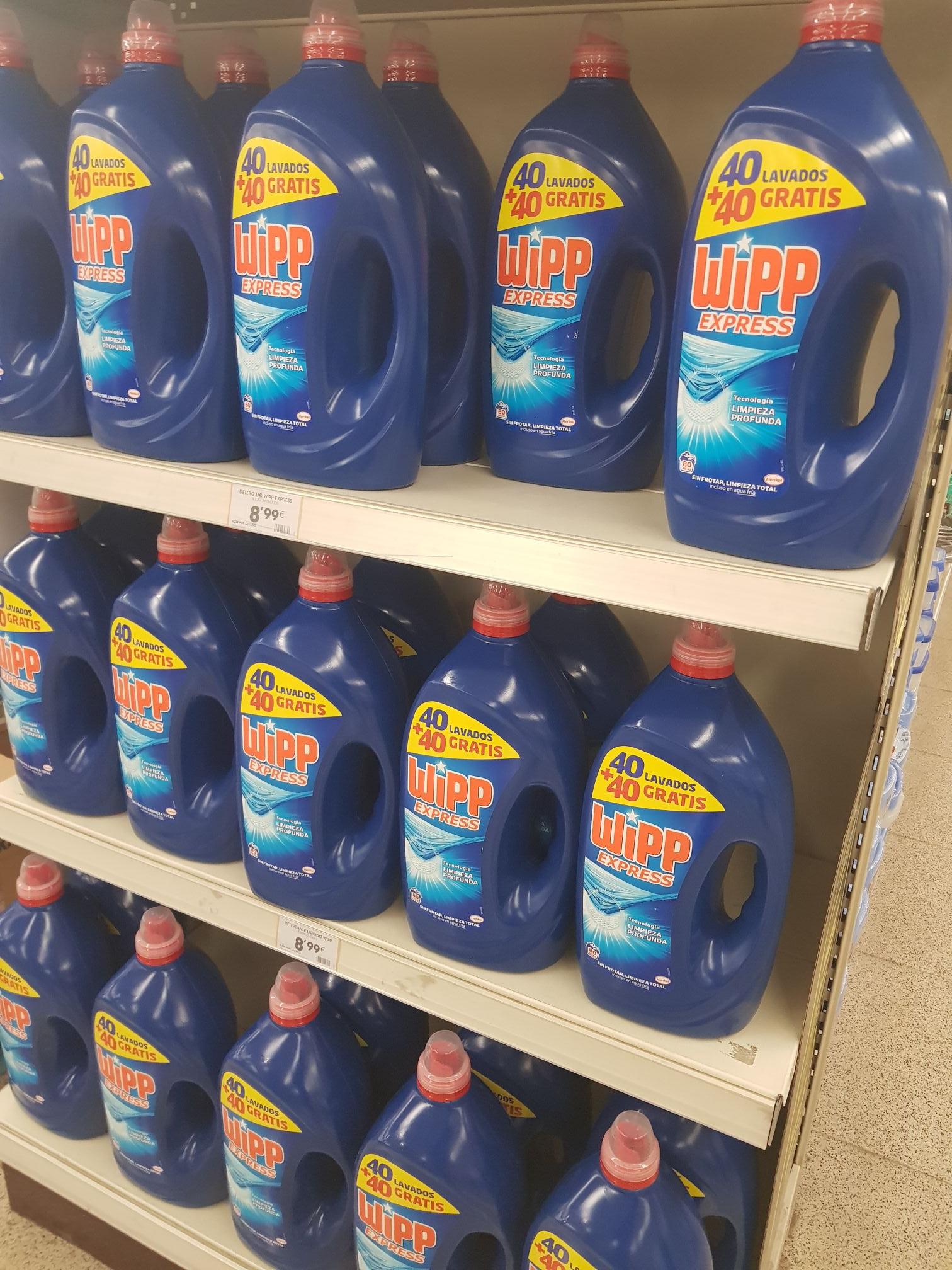 Wipp express 80 lavados