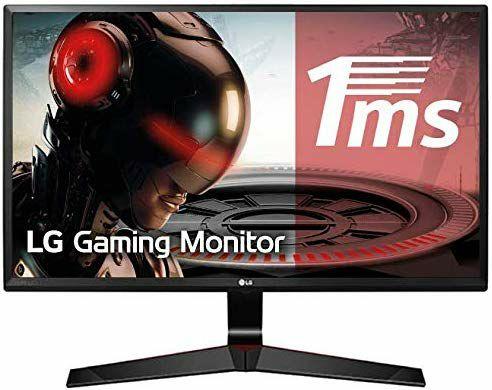 "Monitor LG Full HD de 27"" con Panel IPS, 1 ms, 75Hz"