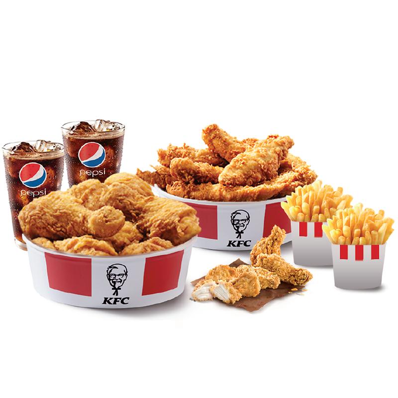 Vuelve el menú para 2 en KFC por 11,95