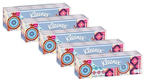 Kleenex mini collection. Pañuelos, Pack 5x15