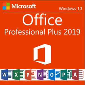 Licencia Office Profesional Plus 2019
