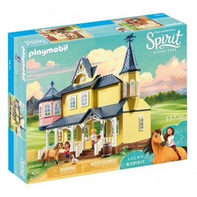 Playmobil Spirit - Casa de Lucky, Construcción A partir de 4 años