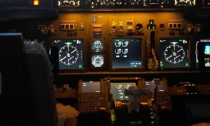 Simulador de Vuelo 737