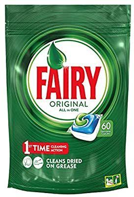 Fairy todo en 1 - 60 cápsulas (Precio al tramitar el pedido)