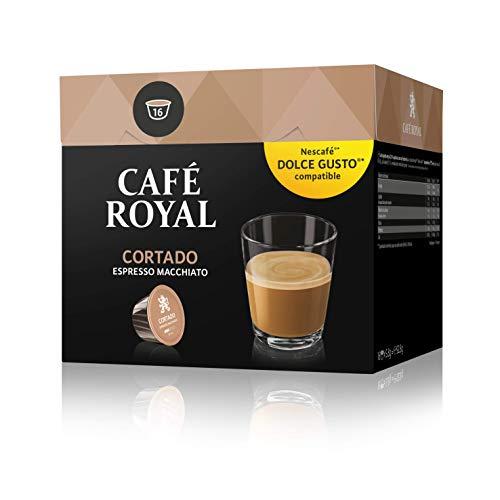Café Royal Cortado 48 cápsulas compatibles con Nescafé Dolce Gusto (Precio al tramitar)