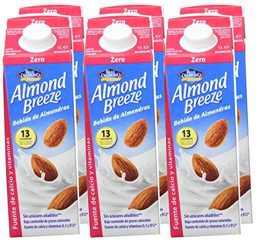 Paquete de 6 x 1000 ml. de Bebida de Almendra Zero Almond Breeze (Precio al tramitar)