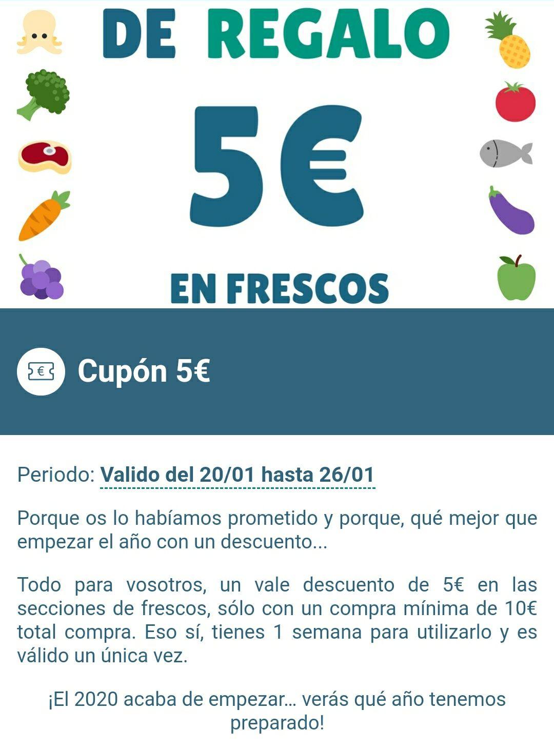 5€ DE DESCUENTO EN CONDIS (Registrandose en la app)