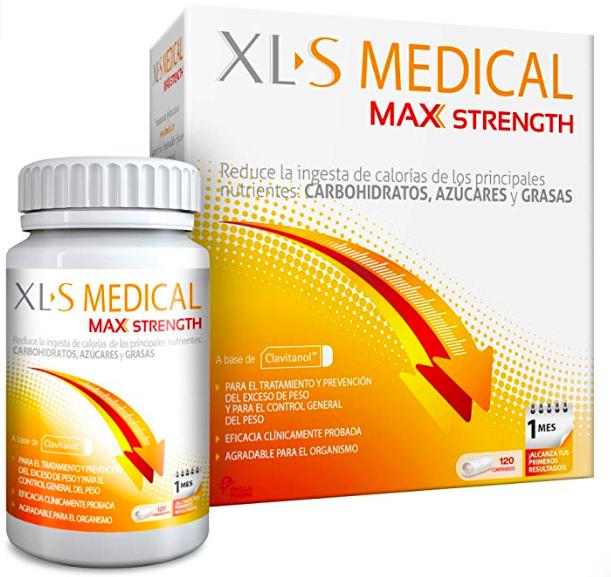 XLS MEDICAL un mes (120 comprimidos)