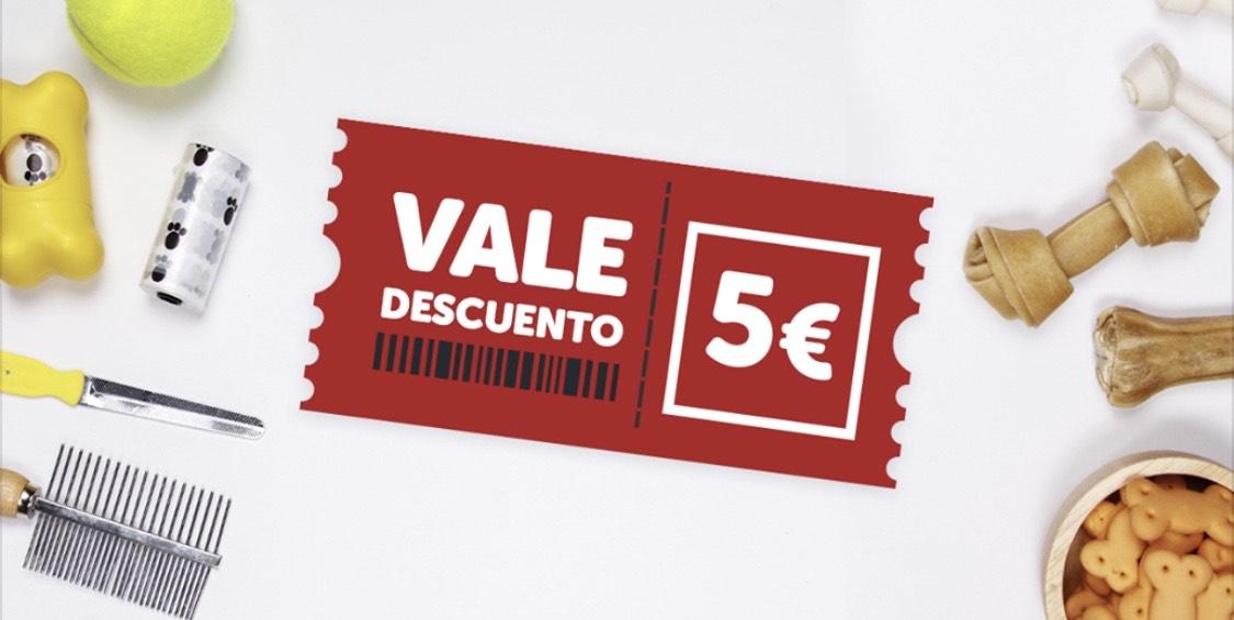 Vale 5€ Kiwoko (Cartagena, Murcia)