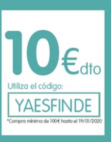 10€ dto en compras > 100€ DÍA [Código YAESFINDE]