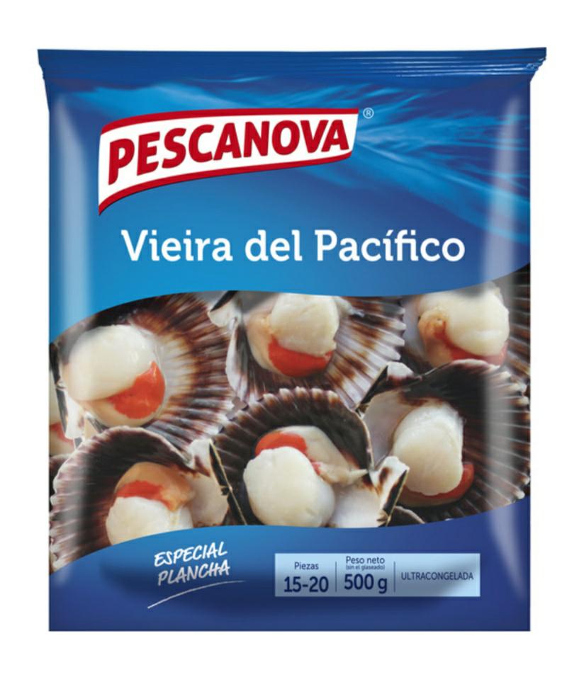 Marisco Congelado marcas Pescanova y Delfin al 50% (Hipercor El Bercial)