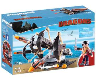 Playmobil :: Eret con Ballesta DreamWorks Dragons (AlCampo)
