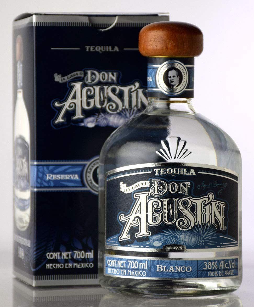 Tequila Don Agustín (Blanco) - 700 ml.