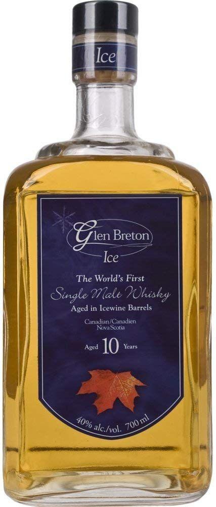 Whiskey Glen Bretón 10años Ice Single Malt - 700 ml.