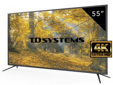 Televisor 55 pulgadas 4k TD Systems a 369€